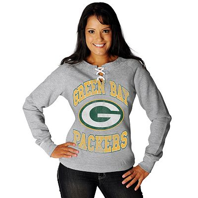 Green Bay Packers O.T. Queen III French Terry Sweatshirt - Women