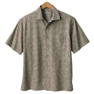 Batik Bay Diamond Casual Button-Down Shirt
