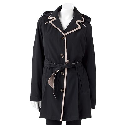 Apt. 9 Pleated Trench Coat