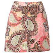 Croft and Barrow Essential Printed Skort