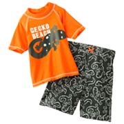 Carter's Gecko Beach 2-pc. Rash Guard Set - Boys 4-7