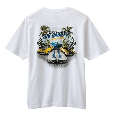 Newport Blue Original Big Daddy's Street Rods Tee - Big and Tall
