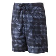 Speedo Floral Plaid Board Shorts