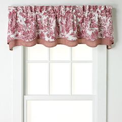 Ellis Curtains Toile Bradford Window Valance