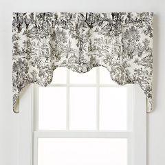 Ellis Curtains Toile Empress Window Valances