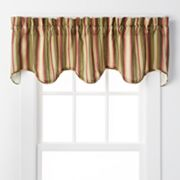 Ellis Curtain Montego Scalloped Window Valance