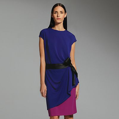 Narciso Rodriguez for DesigNation Colorblock Dress