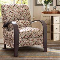 Madison Park Circle Bent Arm Recliner Chair