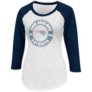 New England Patriots Sport Princess II Raglan Tee - Women