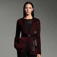 Women's Narciso Rodriguez for DesigNation Marled Open-Front Cardigan