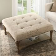 Madison Park Darcy Cocktail Ottoman