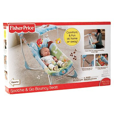 Fisher-Price Soothe and Go Bouncy Seat