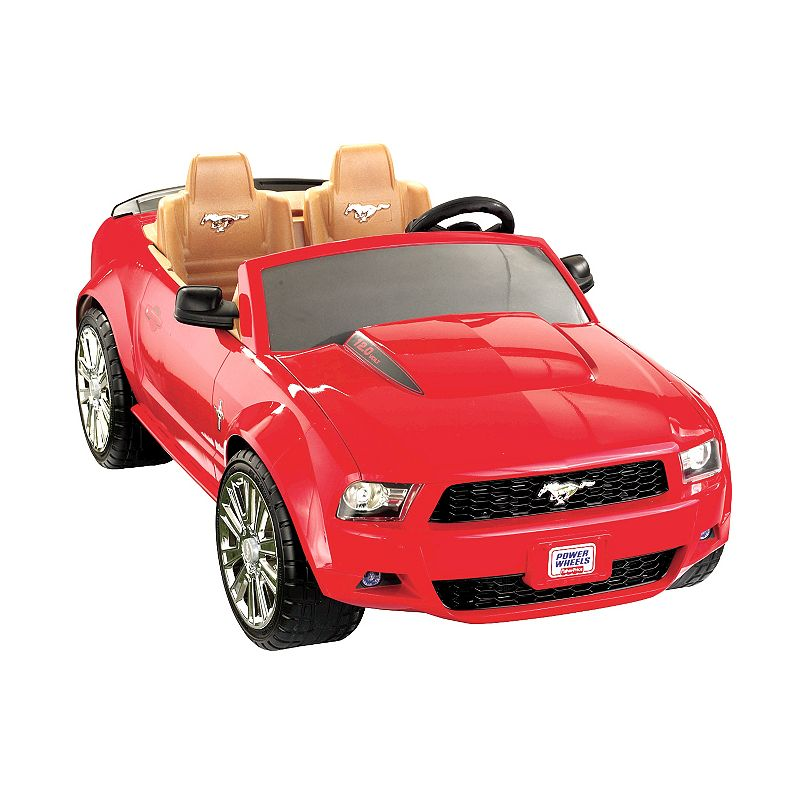 Fisher Price Red Ford Mustang 12 Volt