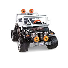 Power Wheels Tough Talkin' Jeep Ride-On by Fisher-Price by