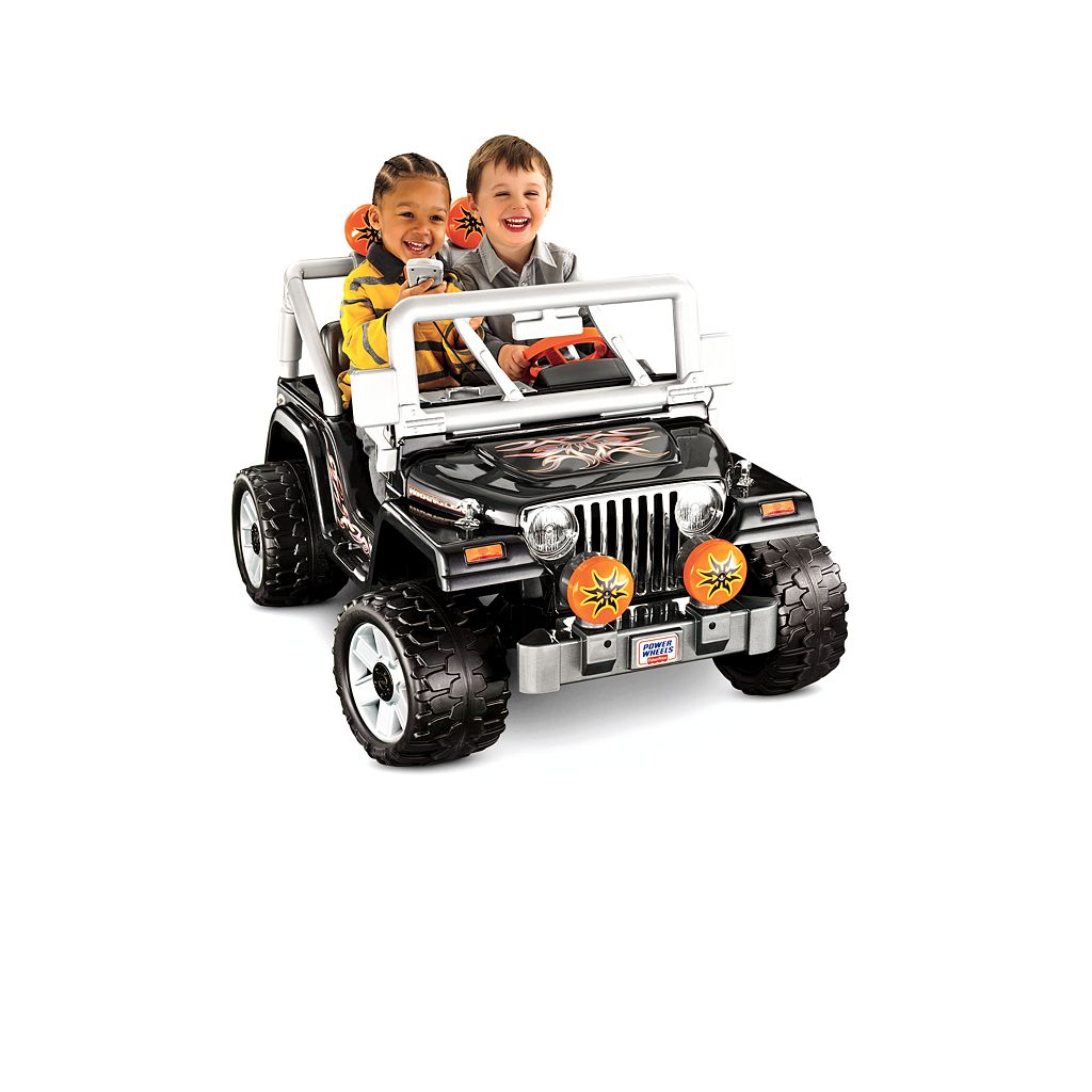 Power Wheels Tough Talkin' Jeep Ride-On by Fisher-Price