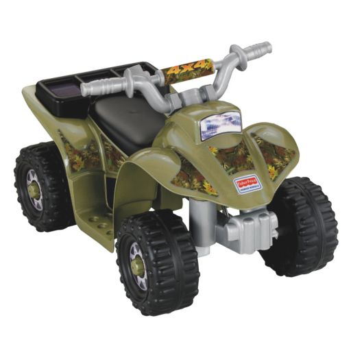 Power Wheels Camo Lil' Quad by Fisher-Price