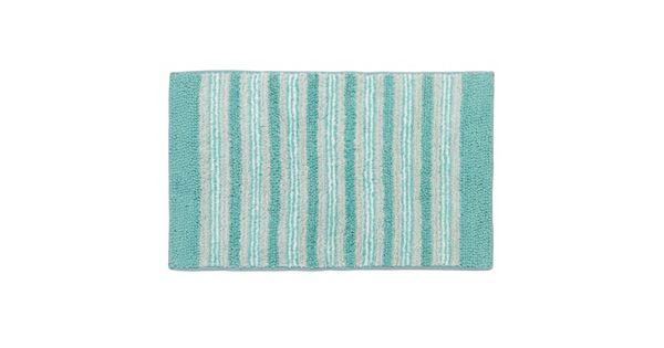 Sonoma Goods For Life Oceanside Striped Bath Rug