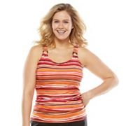 Croft and Barrow Fit for You Bust Enhancer Tankini Top - Women's Plus