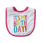 Carter's It's My Birth Day Bib