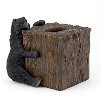 Avanti Black Bear Lodge Tissue Cover