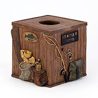 Avanti Rather Be Fishing Tissue Box