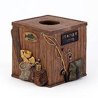 Avanti Rather Be Fishing Tissue Box