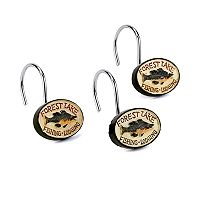 Avanti Rather Be Fishing 12-pk. Shower Curtain Hooks