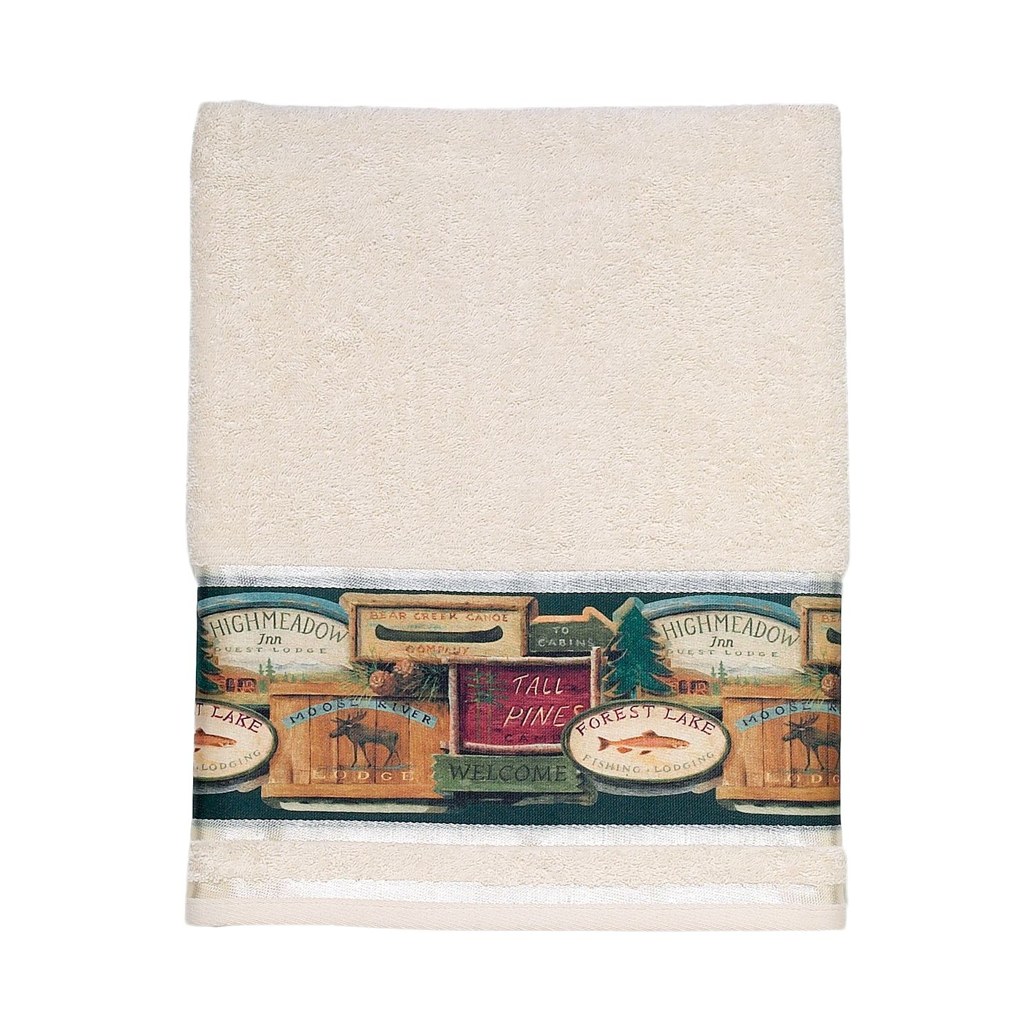 Avanti Rather Be Fishing Bath Towel
