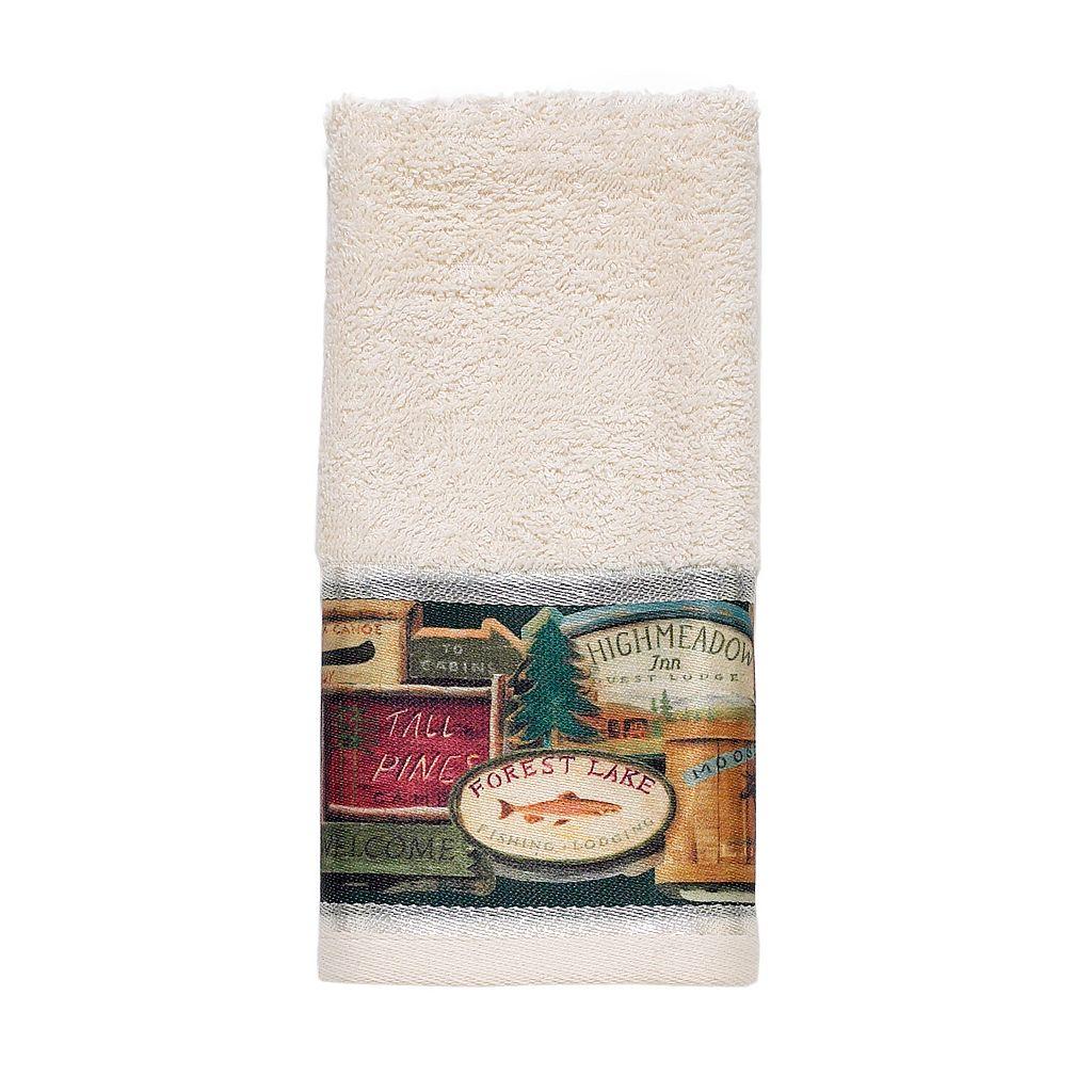 Avanti Rather Be Fishing Fingertip Towel