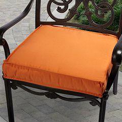 Mozaic Sunbrella 20 in Canvas Outdoor Chair Cushion