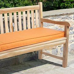 Mozaic Sunbrella 60' x 19' Canvas Outdoor Bench Cushion