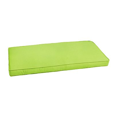 Mozaic Sunbrella 48'' x 19'' Canvas Outdoor Bench Cushion