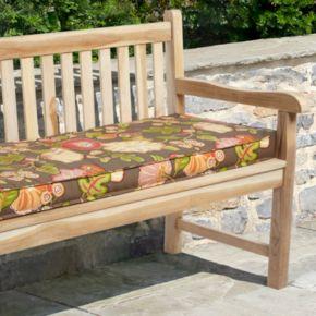 Mozaic P. Kaufmann 60'' x 19'' Floral Outdoor Bench Cushion