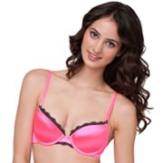 Candie's Shine Demi Satin Push-Up Bra