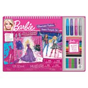 Fashion Angels Barbie Glamtastic Fashion Sketch Portfolio Set by Mattel