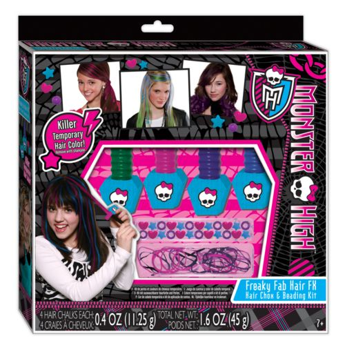 Monster High Freaky Fab Hair FX Hair Chox and Beading Kit by Fashion Angels