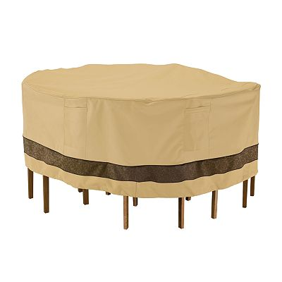 Classic Accessories Veranda Table Chair Cover