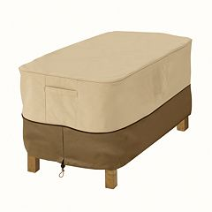 Classic Accessories Veranda 30 in Ottoman & Table Cover