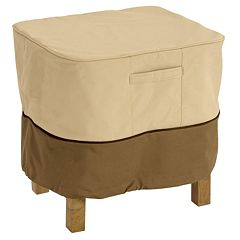 Classic Accessories Veranda 28-in. Ottoman & Table Cover