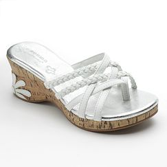 SONOMA life + style Wedge Sandals - Girls