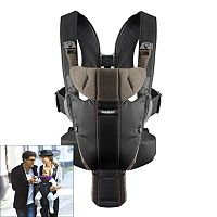 BabyBjorn Miracle Organic Baby Carrier - Brown