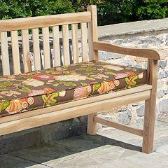Mozaic P. Kaufmann 48' x 19' Floral Outdoor Bench Cushion