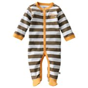 First Moments Lion Striped Turn Me Around Sleep and Play - Baby