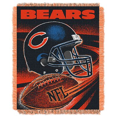 Chicago Bears Jacquard Throw Blanket by Northwest