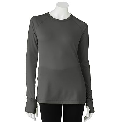 Tek Gear Raglan Performance Fleece Top