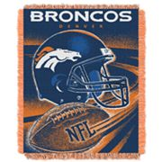 Denver Broncos Jacquard Throw Blanket by Northwest