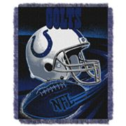 Indianapolis Colts Jacquard Throw Blanket by Northwest