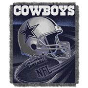 Dallas Cowboys Jacquard Throw Blanket by Northwest