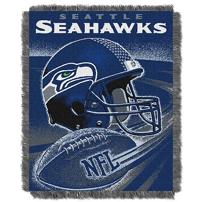 Seattle Seahawks Jacquard Throw Blanket by Northwest