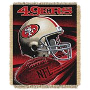 San Francisco 49ers Jacquard Throw Blanket by Northwest